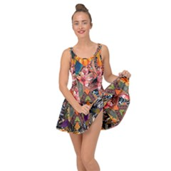 Tropical Paradise Inside Out Casual Dress by tarastyle