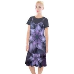 Fractal Flower Lavender Art Camis Fishtail Dress by Pakrebo