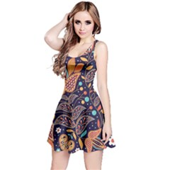 Paisley Reversible Sleeveless Dress by Wmcs91