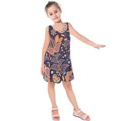 Paisley Kids  Sleeveless Dress by Wmcs91