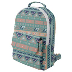 Tribal Flap Pocket Backpack (small) by Sobalvarro