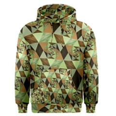 Fractal Mosaic Abstract Fractal Art Men s Pullover Hoodie