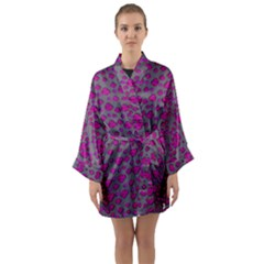Roses So Beautiful Just For Love From Sky Long Sleeve Kimono Robe by pepitasart