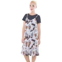 Hufflepuff Pattern Camis Fishtail Dress by Wmcs91