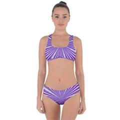 Background Abstract Purple Design Criss Cross Bikini Set by Pakrebo