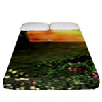 Eddie s Sunset Fitted Sheet (King Size)