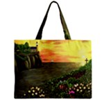 Eddie s Sunset Zipper Mini Tote Bag