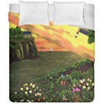 Eddie s Sunset Duvet Cover Double Side (California King Size)