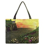 Eddie s Sunset Zipper Medium Tote Bag