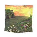 Eddie s Sunset Square Tapestry (Small)
