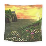 Eddie s Sunset Square Tapestry (Large)