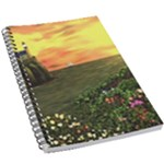 Eddie s Sunset 5.5  x 8.5  Notebook