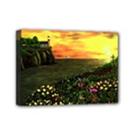 Eddie s Sunset  By Ave Hurley   Square (2) Eddie s Sunset By Ave Hurley   [stretched] Mini Canvas 7  x 5  (Stretched)