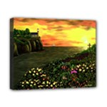 Eddie s Sunset  By Ave Hurley   Square (2) Eddie s Sunset By Ave Hurley   [stretched] Canvas 10  x 8  (Stretched)