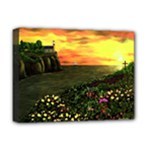 Eddie s Sunset  By Ave Hurley   Square (2) Eddie s Sunset By Ave Hurley   [stretched] Deluxe Canvas 16  x 12  (Stretched)