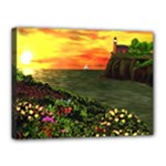 Eileen s Sunset Canvas 16  x 12  (Stretched)