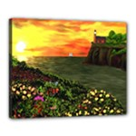 Eileen s Sunset Canvas 20  x 16  (Stretched)