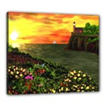 Eileen s Sunset Canvas 24  x 20  (Stretched)