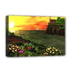 Eileen s Sunset Deluxe Canvas 18  x 12  (Stretched)