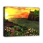 Eileen s Sunset Deluxe Canvas 20  x 16  (Stretched)