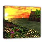 Eileen s Sunset Deluxe Canvas 24  x 20  (Stretched)