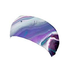 Color Acrylic Paint Art Painting Yoga Headband