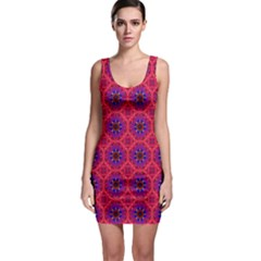 Retro Abstract Boho Unique Bodycon Dress