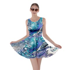 Paint Acrylic Paint Art Colorful Skater Dress
