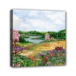 Katy s Pasture  Mini Canvas 6  x 6  (Stretched)