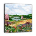 Katy s Pasture  Mini Canvas 8  x 8  (Stretched)