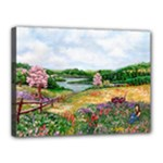 Katy s Pasture  Canvas 16  x 12  (Stretched)