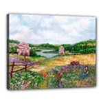 Katy s Pasture  Canvas 20  x 16  (Stretched)