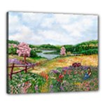 Katy s Pasture  Canvas 24  x 20  (Stretched)
