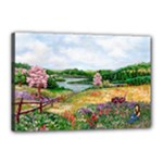 Katy s Pasture  Canvas 18  x 12  (Stretched)