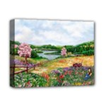 Katy s Pasture  Deluxe Canvas 14  x 11  (Stretched)