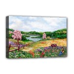 Katy s Pasture  Deluxe Canvas 18  x 12  (Stretched)