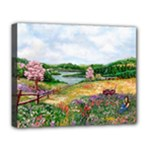 Katy s Pasture  Deluxe Canvas 20  x 16  (Stretched)
