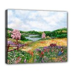 Katy s Pasture  Deluxe Canvas 24  x 20  (Stretched)
