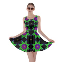 Seamless Wallpaper Pattern Skater Dress