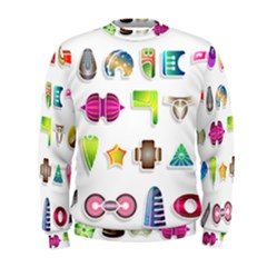 Shapes Abstract Set Pack Men s Sweatshirt