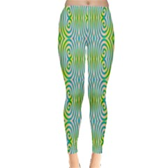 Seamless Pattern Ornament Design Leggings