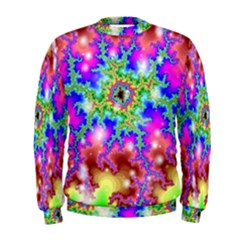 Fractals Abstraction Space Men s Sweatshirt