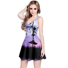 Cute Fairy Dancing In The Night Reversible Sleeveless Dress by FantasyWorld7