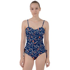 Midnight Florals Sweetheart Tankini Set by VeataAtticus
