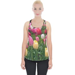Home Chicago Tulips Piece Up Tank Top by bloomingvinedesign