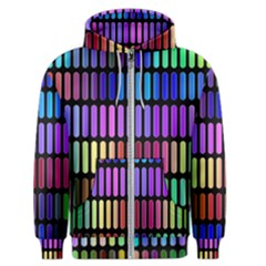 Resolve Art Pattern Men s Zipper Hoodie