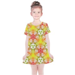Background Abstract Pattern Texture Kids  Simple Cotton Dress by Pakrebo