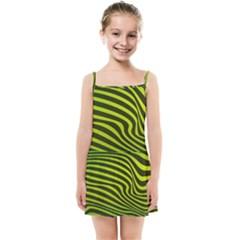 Wave Green Kids  Summer Sun Dress