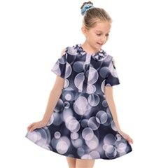 Ball Decoration Lights Kids  Short Sleeve Shirt Dress by Bajindul