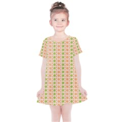 Flowers Kids  Simple Cotton Dress by Bajindul